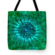 Microscopic View Of Dendrimers Tote Bag