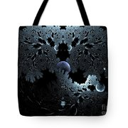 Midnight Ocean Waves Tote Bag