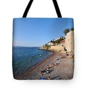 Mikro Kamini Beach Tote Bag