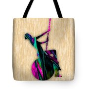 Miley Cyrus Wrecking Ball Tote Bag