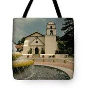 Mission San Buenaventura Tote Bag