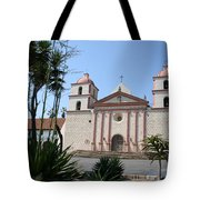 Mission Santa Barbara Tote Bag