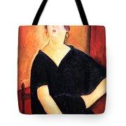 Modigliani's Madame Amedee -- Woman With Cigarette Tote Bag