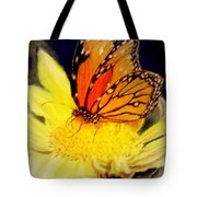 Monarch Resting Sold Pastel Tote Bag