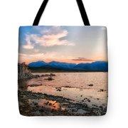 Mono Lake Sunset Tote Bag