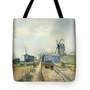 Montmartre Mills And Vegetable Gardens Tote Bag