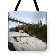 Montmorency Waterfall  Canada Tote Bag