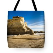 Monument Rocks Of Kansas Tote Bag