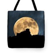 Moonstruck Over Tuscany Tote Bag