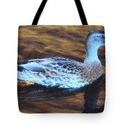 Mottled Duck Tote Bag
