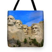 Mount Rushmore South Dakota Tote Bag