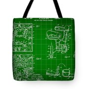Mouse Trap Board Game Patent 1962 - Green Tote Bag