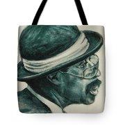 Mr Bowler Mustache Tote Bag