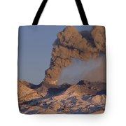 Mt Ruapehu 1996 Eruption New Zealand Tote Bag