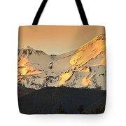 Mt. Shasta Sunset Panorama Tote Bag