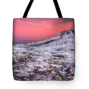 Mt. St. Helens Sunset Tote Bag