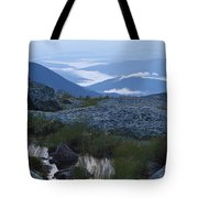 Mt. Washington Blue Hour Tote Bag