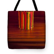 Multi Colored Paint Brushes Tote Bag