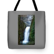 Multnomah Falls Bridge Tote Bag