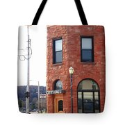 Munising Michigan - City Hall Tote Bag