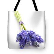 Muscari Or Grape Hyacinth Tote Bag