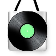 Music Record Tote Bag