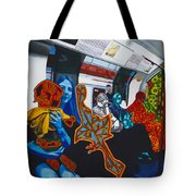 Mutinous Objects Gather In Darkness. The Underground Tote Bag