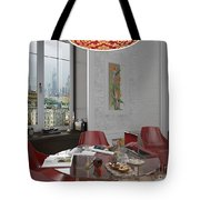 My Art In The Interior Decoration - Elena Yakubovich Tote Bag