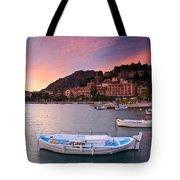 Nafplio Harbour Tote Bag