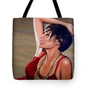 Natalie Imbruglia Painting Tote Bag