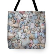Natural Rock Pebble Backgorund Tote Bag