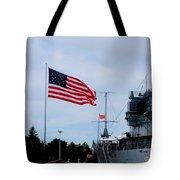 Naval Park And Museum Tote Bag