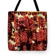 New Mexico Red Chili Ristra And Gralic Tote Bag