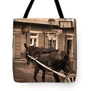 New Orleans - Bourbon Street Horse 3 Tote Bag