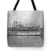 New Orleans Steamboat Tote Bag