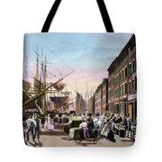 New York City, C1820 Tote Bag