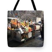 New York Street Vendor Tote Bag