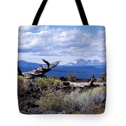 Newberry Lava Beds Tote Bag