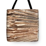 Newspaper Stack Tote Bag