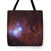 Ngc 2264, The Cone Nebula Region Tote Bag