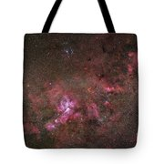 Ngc 3372, The Eta Carinae Nebula Tote Bag by Robert Gendler