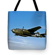 North American B-25g Mitchell Bomber Tote Bag