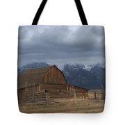 North Moulton Barn Grand Tetons Tote Bag