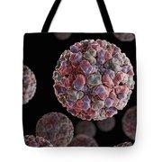 Norwalk Virus Tote Bag