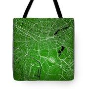Nuremberg Street Map - Nuremberg Germany Road Map Art On Colored Tote Bag