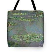 Nympheas Tote Bag by Claude Monet