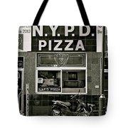 N.y.p.d. Pizza Tote Bag
