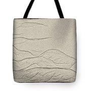 Ocean Sand Art Tote Bag