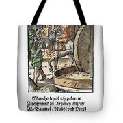 Oil Press, 1568 Tote Bag