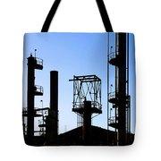 Oil Refinery Tote Bag